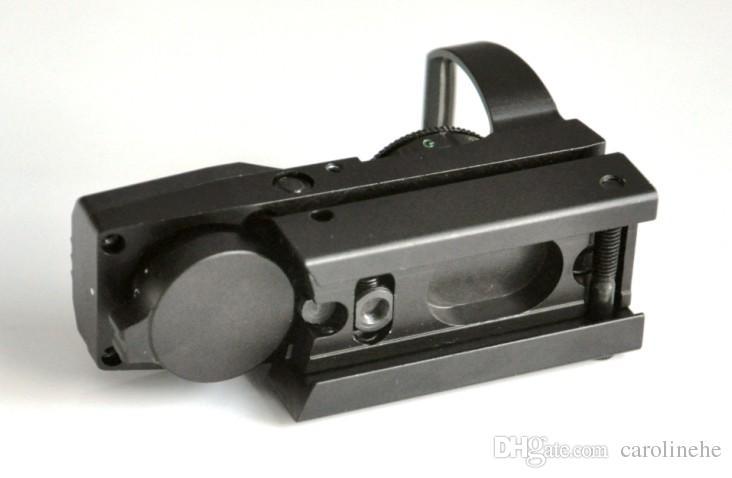 Caccia esterna 4 reticolo Red Green Dot Sight Rifle Scope 1X22X33