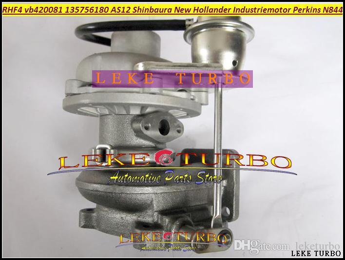 RHF4 13575-6180 135756180 Yeni Hollandaer Için AS12 VB420081 VA420081 Turbo Için SHIBAURA Industriemotor Perkins Için N844L-T 2.2 T Turbo