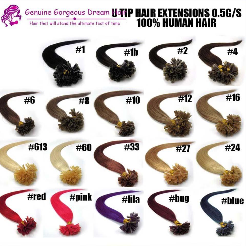 EVET 말레이시아 사람의 머리카락 확장 Nail U Tip Extensions Straight # 613 7A 그레이드 50g 미처리 된 헤어 프로모션