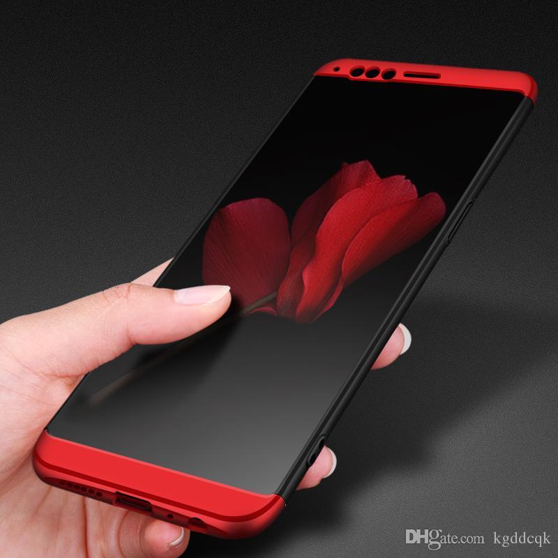 super popular c88c2 4be41 OPPO R11 Plus R11s Back Cover For OPPO R9 R9s R7s R7 Plus Full Protect Case  Detachable Matte Phone Case PC Hard Shell