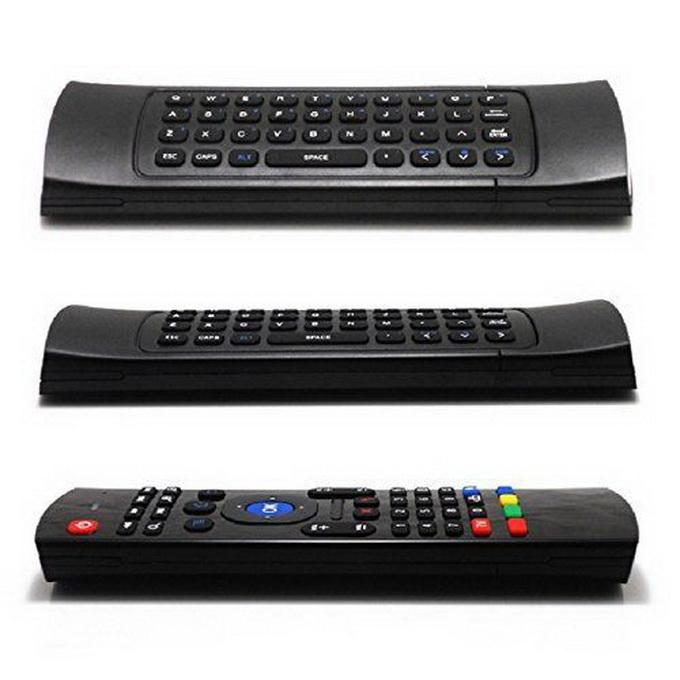 X8 2.4GHz Wireless Keyboard MX3 Fernbedienung mit 6-Achsen-Mikrofon-Stimme 3D IR-Lernmodus Fliegen-Air-Maus-Hintergrundbeleuchtung für Android Smart TV-Box