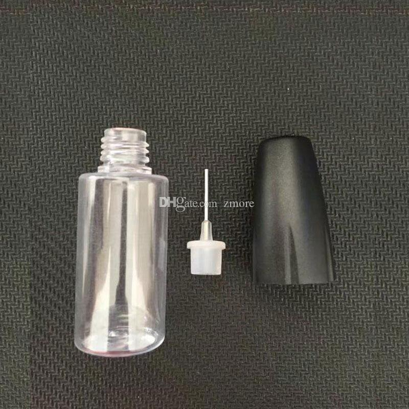 10ML Plastic Dropper Bottles With Metal Tips Empty Needle Bottle For E Liquid PET Plastic Bottles for eGo Vapor E Juice