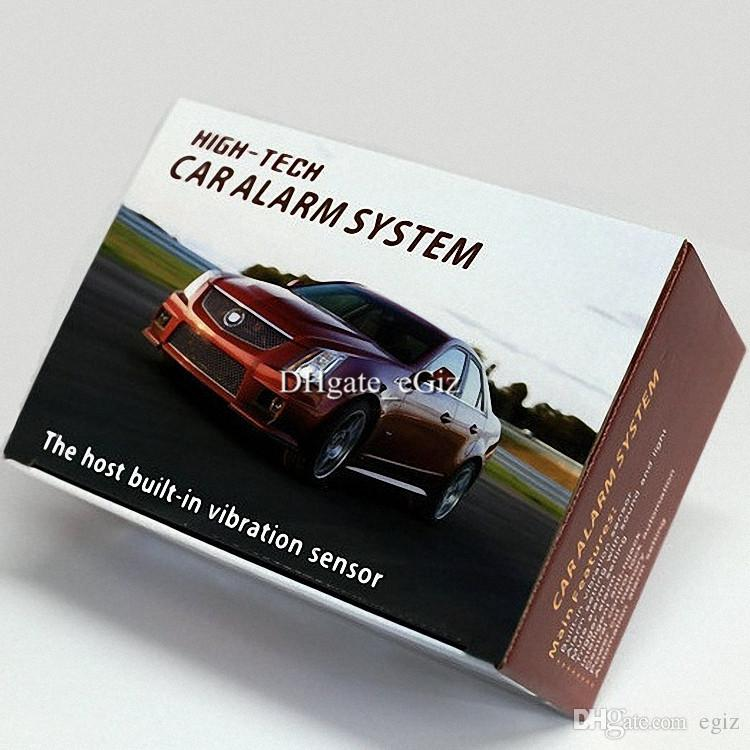 2019 Jc 501 One Way Car Alarm Security System Audible
