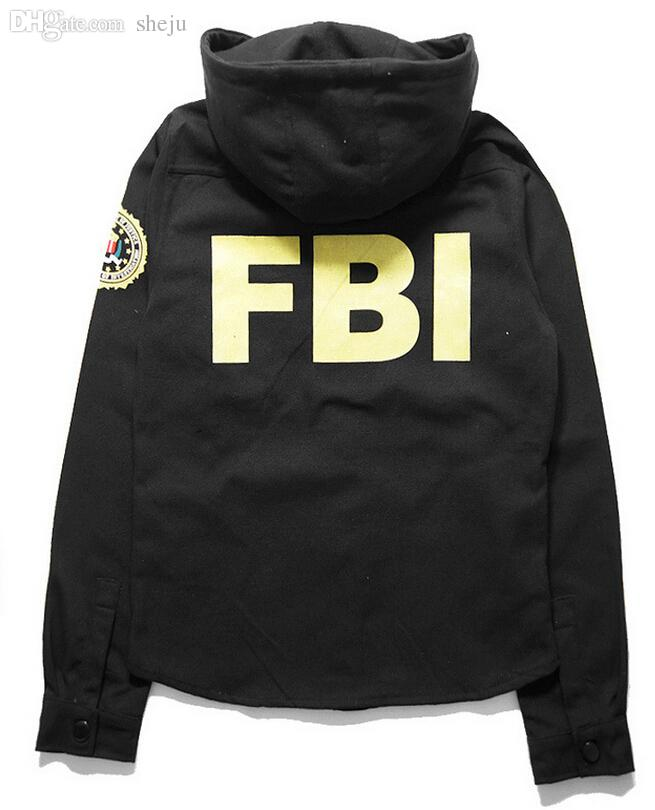 9b2bab2bd Fall-2015 FBI Jacket Bomber Pilot HBA Hoodise By Air Windbreaker Abrigos  Chaquetas thin jacket Clothes Windbreaker FBI Jackets 88