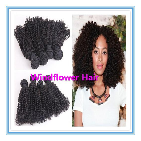 Cheap 6a Peruvian Kinky Curly Hair Extension 8 28inch Afro Kinky
