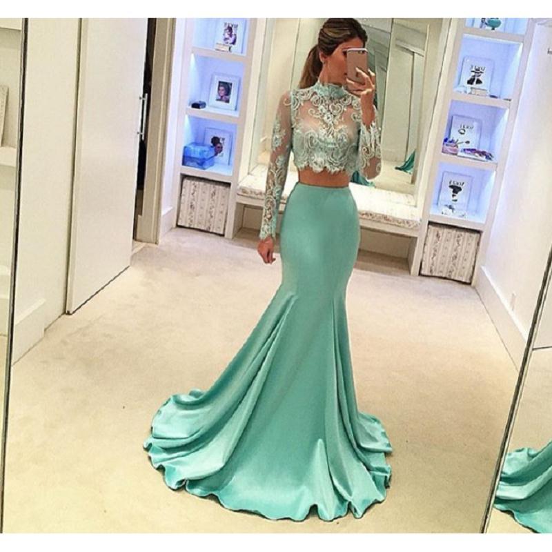 Prom Dresses 2018 2 Piece
