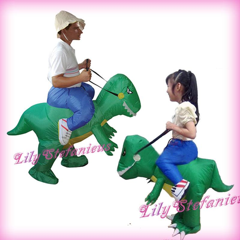 Adult Kids Chub Jurassic World Dragon Suit Inflatable Clothing ...