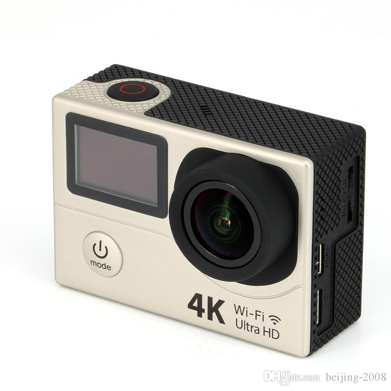 Cámara original Eken H3 de 2 pulgadas con acción y pantalla dual Ultra HD 4K Video Cámara deportiva 170 grados Gran angular 1080p 60 fps Impermeable DV 010225