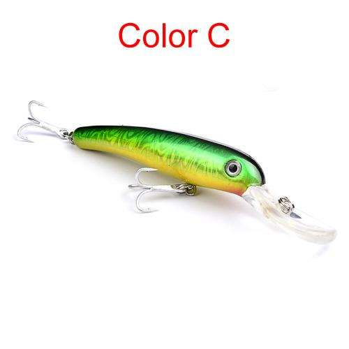 PS Paint Laser Minnow crankbait fishing lures 11.5cm 14g Fly Fishing ABS plastic Swimbait hard bait