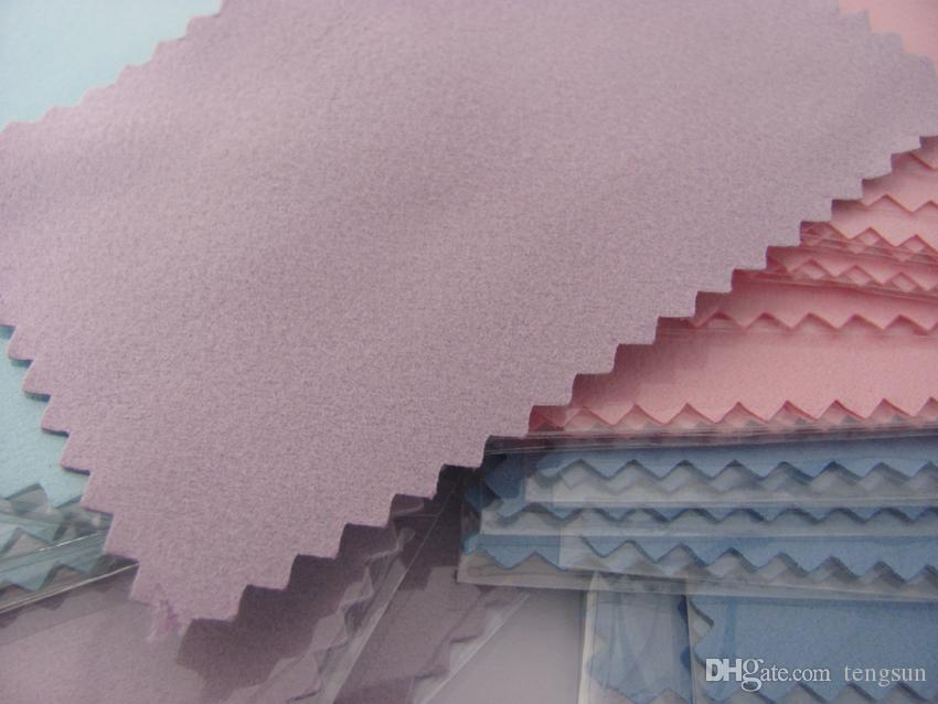 Farben fertigen großen Großhandel mit pp.-Satz-Silber-Poliertuch für goldenen Perlenschmucksachepartner-Reinigungsmittel beste Qualität freies Verschiffen besonders an