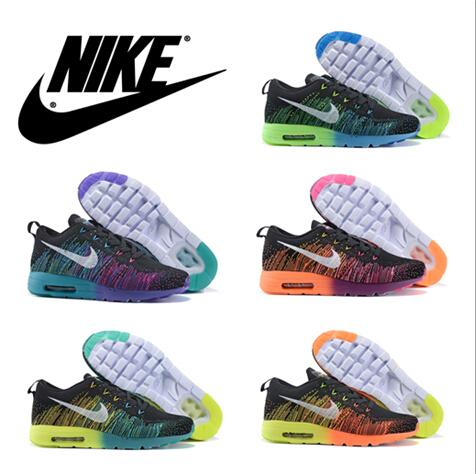 2016 Nike Air Max 87 Flyknit Shoes Womens Running Shoes Mens Sports Shoes  Discount Mens Jogging Shoe New Arrivals Nike Air Max Sneakers Mens Running  Shoe ...