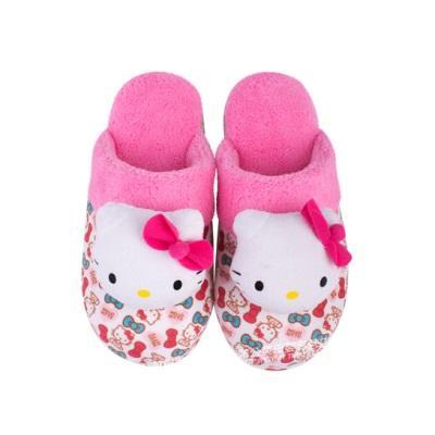74e5c7d2e04f Hellokitty Children Cotten Slippers Parent Child Slippers Autumn Or ...