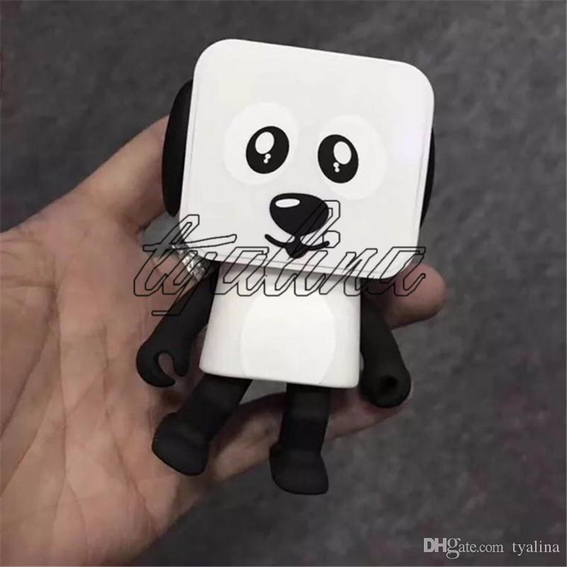 Taşınabilir Mini Köpek Robot Dans Bluetooth Kablosuz Hoparlör iphone Için Güzel Oyuncak Çocuklar Için Kablosuz Hoparlörler