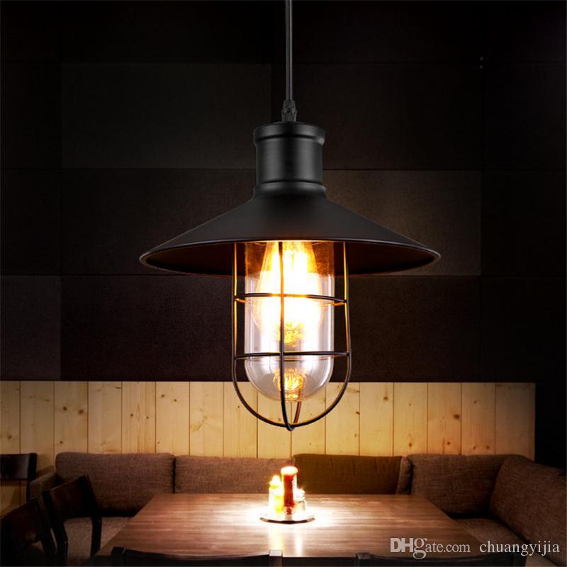 Industrial Lighting Restaurant: Vintage Edison Industrial Pendant Lamp Hanging Lighting