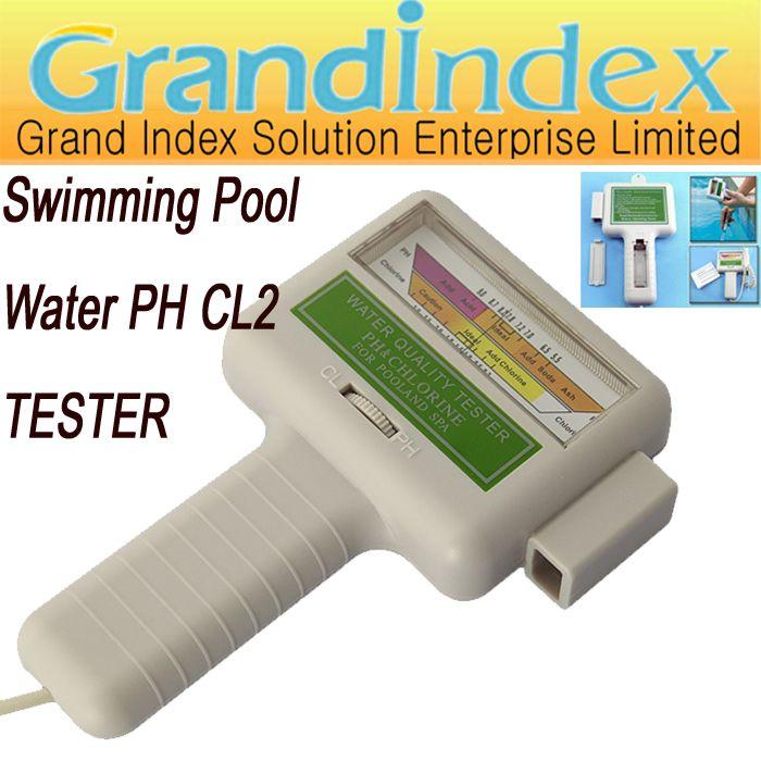 gro handel pc101 schwimmbad wasser tester chlor tester ph wert schnelltest von wasser ph und. Black Bedroom Furniture Sets. Home Design Ideas