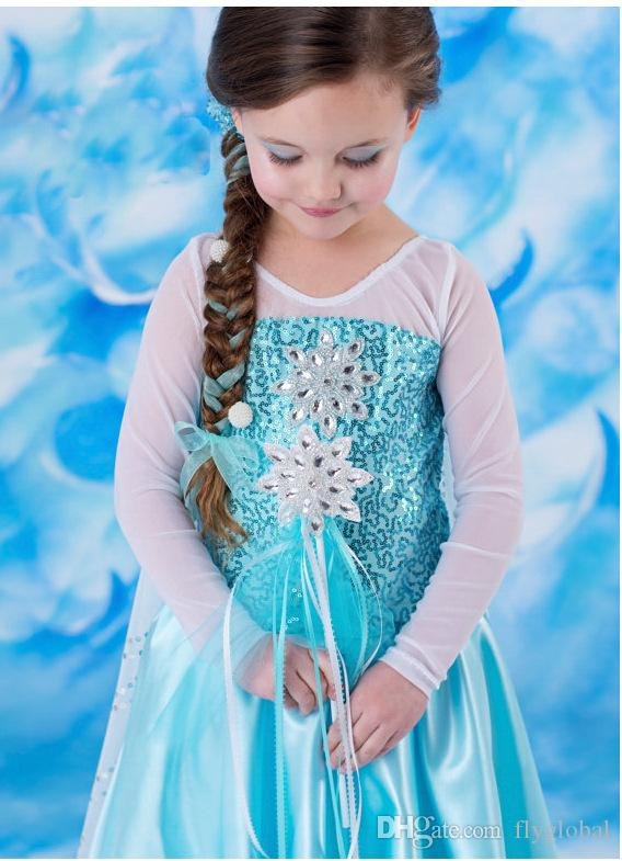 Queen Elsa Frozen Dresses Frozen Princess Dresses Blue2015 Elsa Dresses With White Lace Wape New Fashion Frozen Dresses Elsa Anna Frozen Princess Dress ...  sc 1 st  DHgate.com & Queen Elsa Frozen Dresses Frozen Princess Dresses Blue2015 Elsa ...
