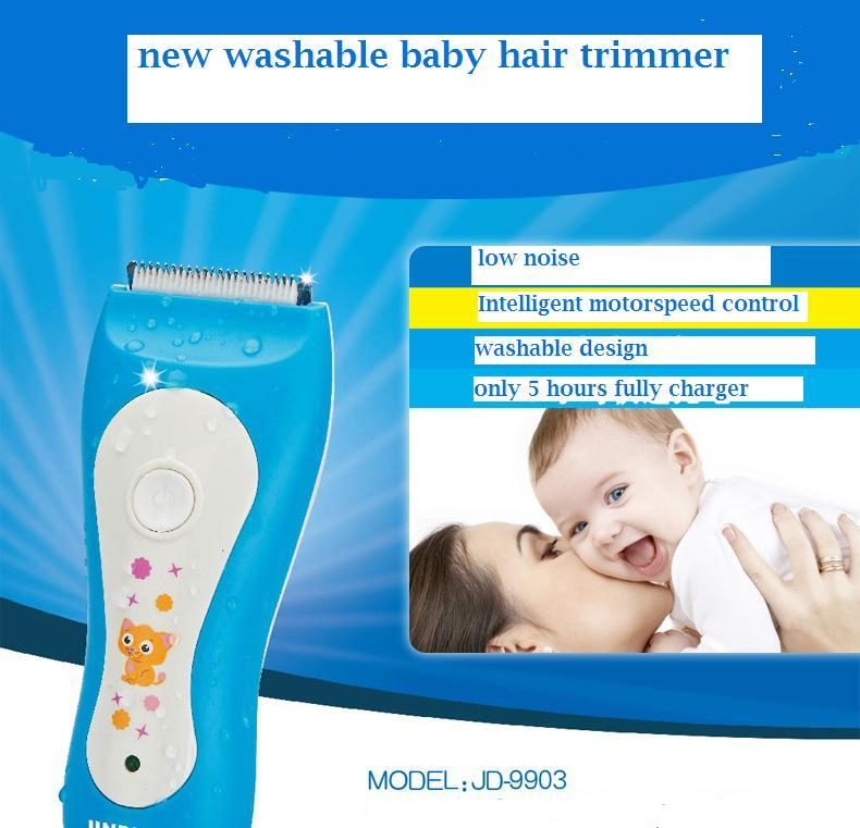 Electric Man Baby Hair Clippers Trimmers Rechargeable Shaver Razor washable low noise for baby haircut barber hairdressing clipper