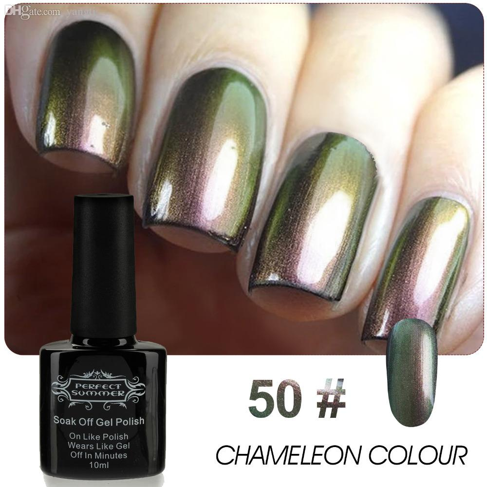 Wholesale Perfect Summer Newest Chameleon Nail Polish Lacquer Thermo ...