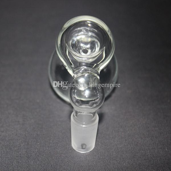 Улавливатель золы тыквы стеклянный построенный в размере ashcatcher 14mm или 18mm Downstem стеклянного шара встроенном Percolator совместном для стеклянных бонгов