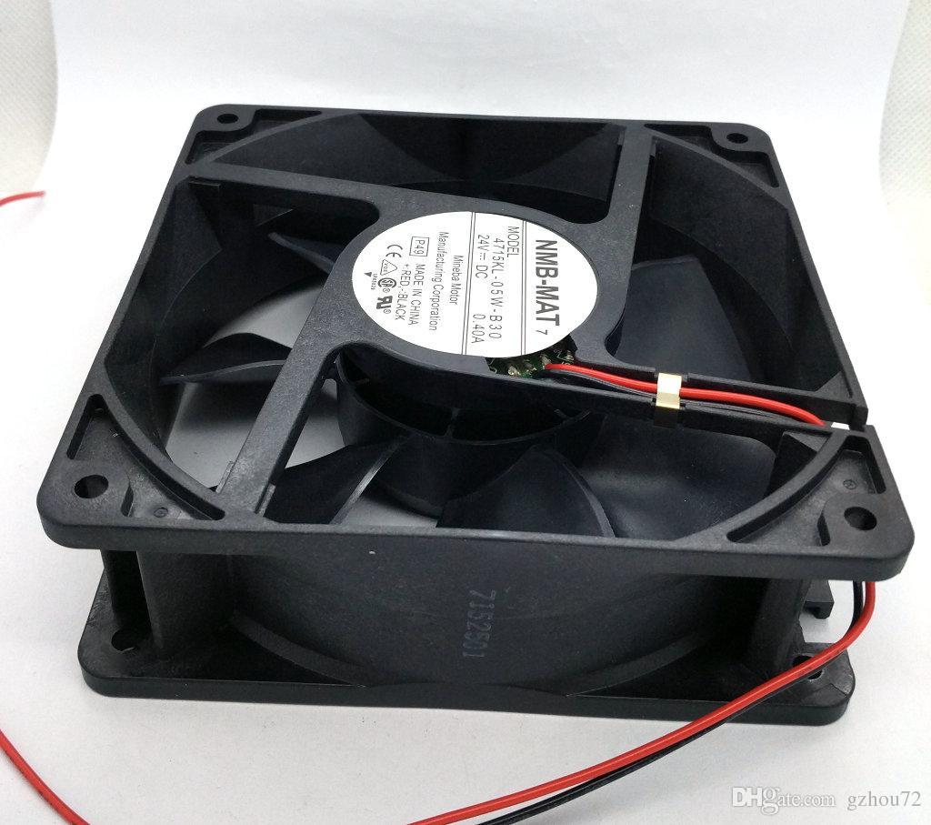 Nuevo original NMB 4715KL-05W-B30 24V 0.40A 120 * 120 * 38mm Ventilador de enfriamiento del inversor