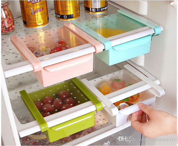 Best Storage Containers Boxes Slide Kitchen Fridge Freezer Space