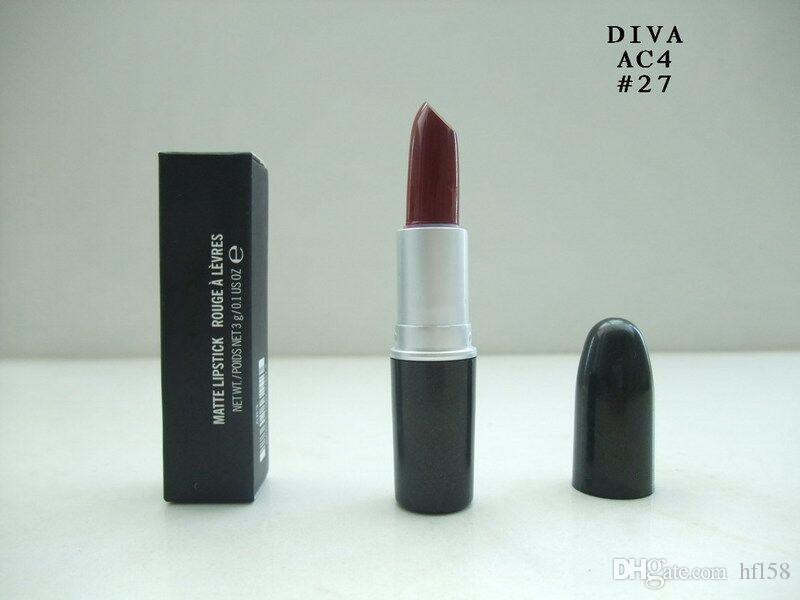 al por mayor de maquillaje de la marca Venta caliente 2017 nueva barra de labios contenido neto 3G envío