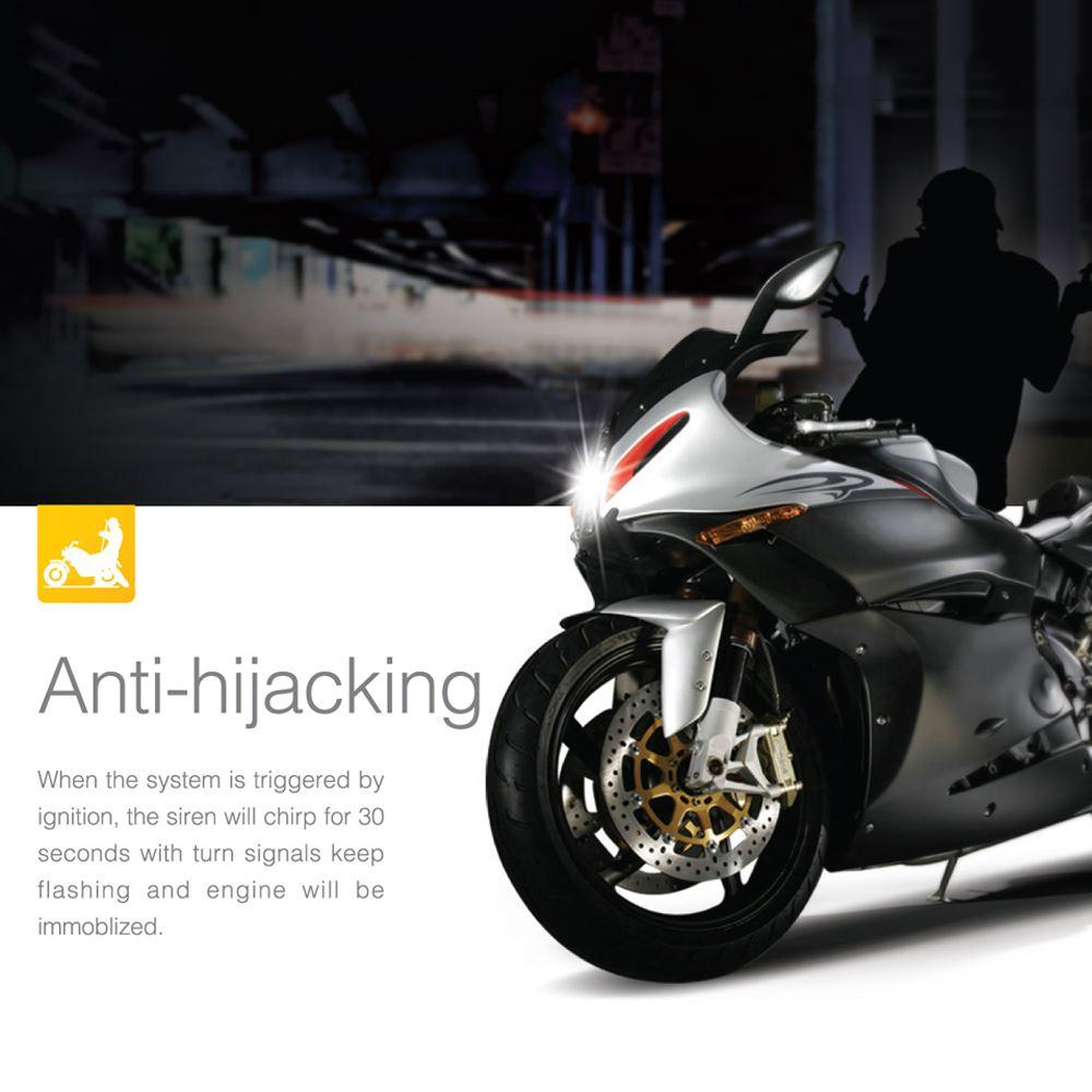 shop theft protection online, steelmate 986e 1 way motorcycle