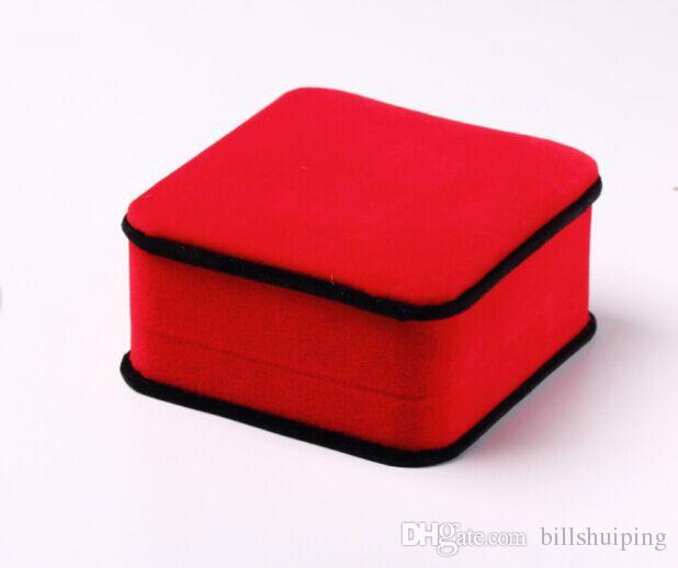 Best quality jade Bracelet Boxes Original Jewelry Packaging Boxes Wine New Style Velvet Boxes