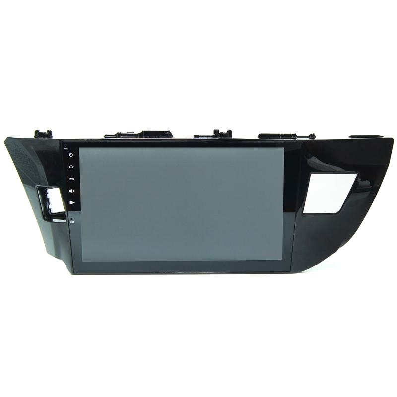 Especial para toyota corolla 2013 2014 dvd do carro gps no carro video player quad core android radio com bluetooth full touch canbus opcional