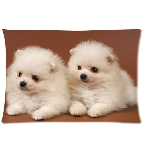 Cool Pillowcase Adorable Puppies Style Pillow Case Twin Sides20x30