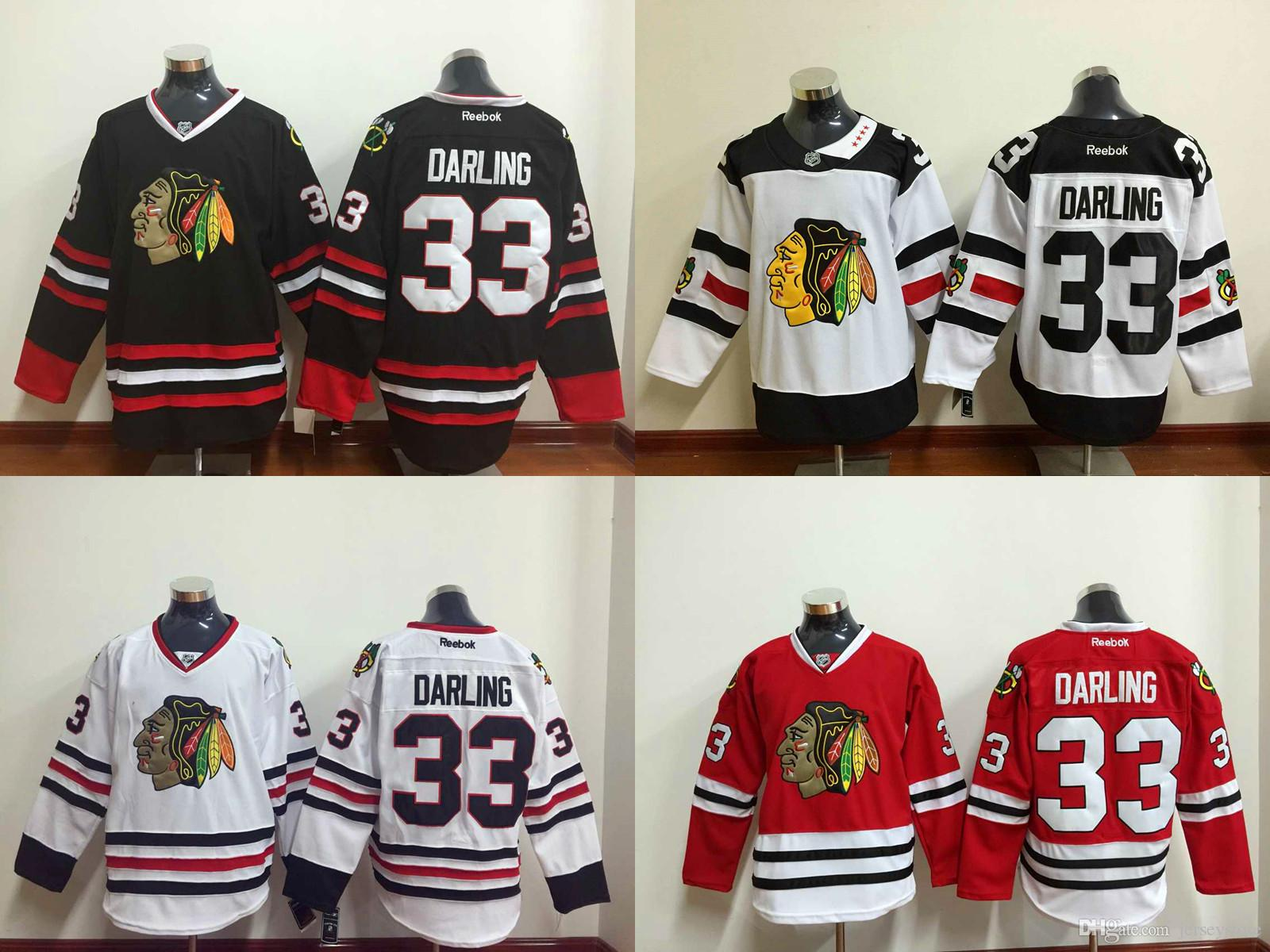 1cee1203643 ... coupon for 2018 2016 new chicago blackhawks scott darling hockey jerseys  home red white balck cheap