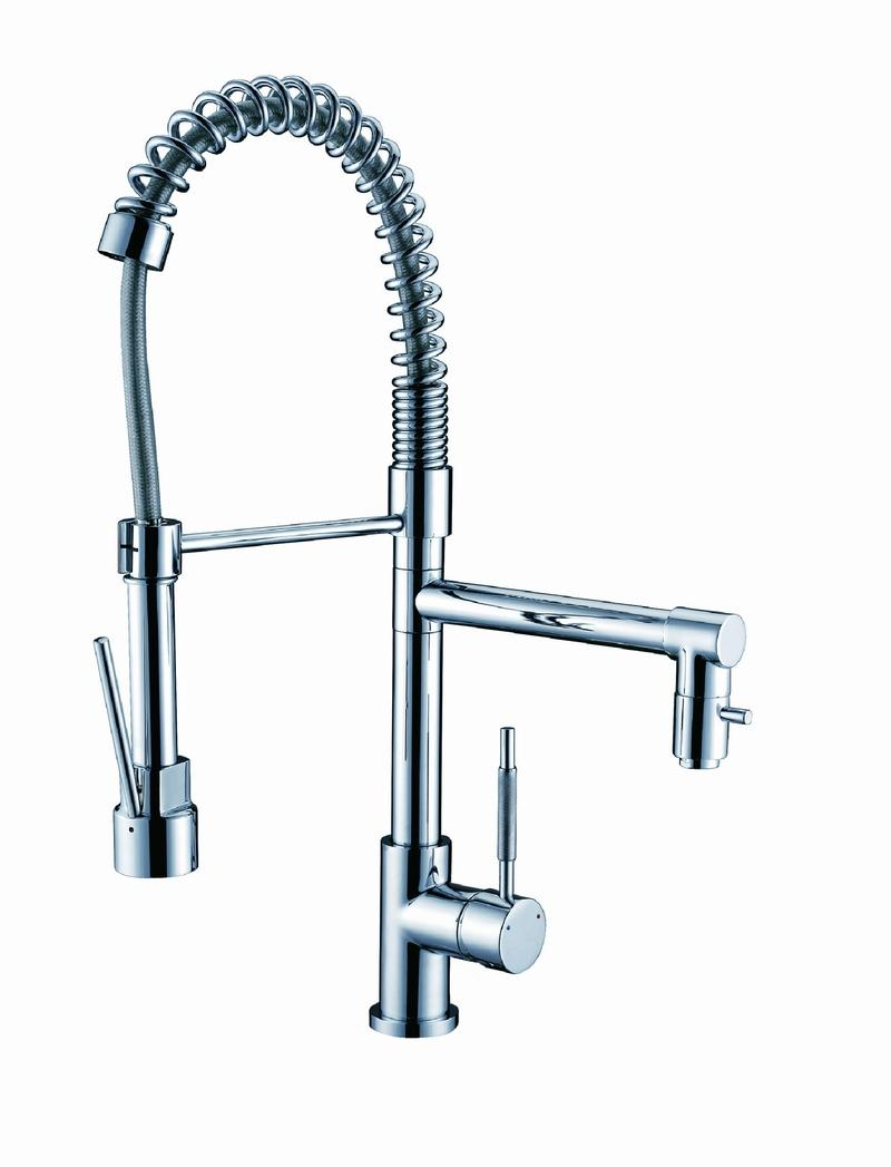 Pre Rinse Kitchen Faucet With Pot Filler
