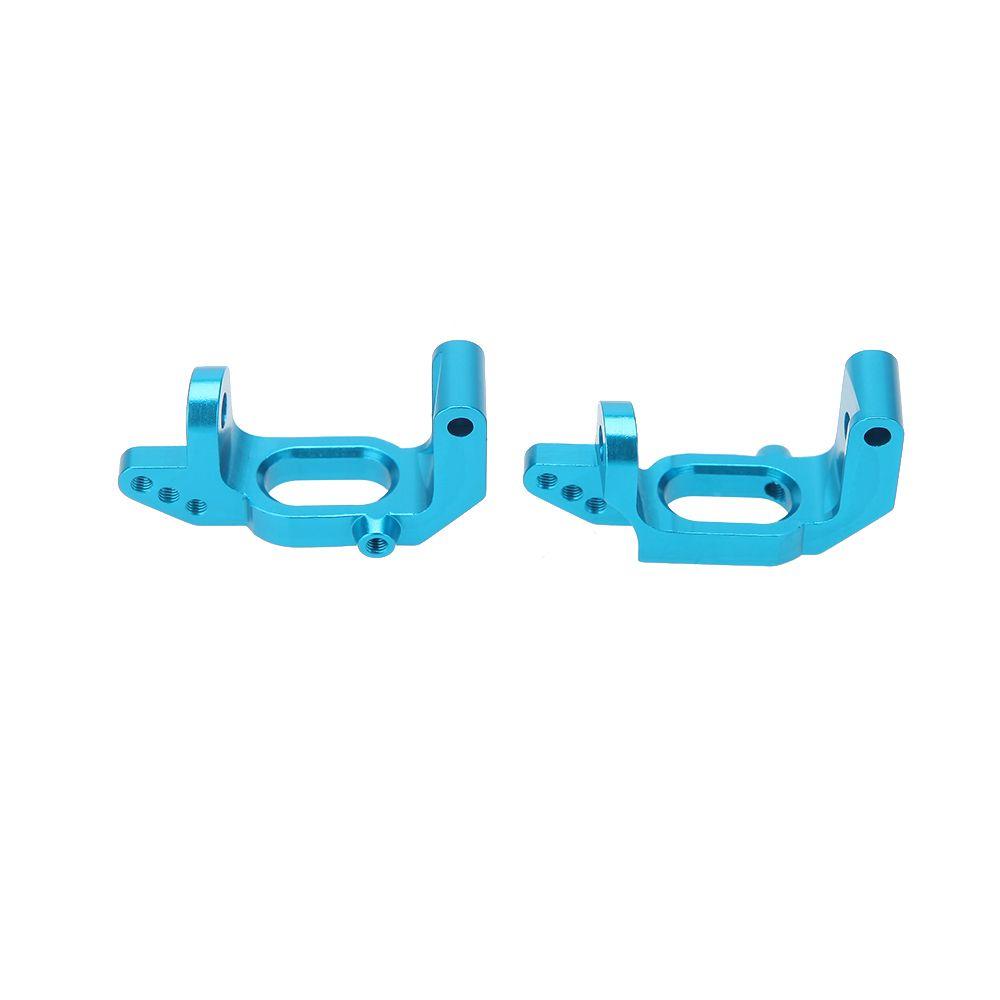 102010 1/10 Upgrade Parts Blue Aluminum Front Hub Carrier L/R for HSP RC Car order<$18no track