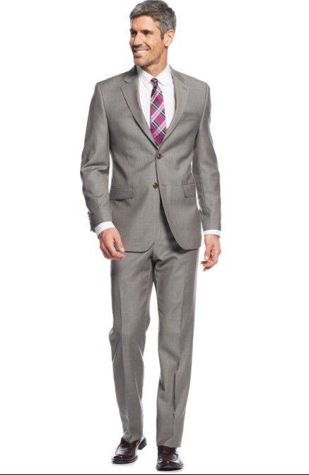 new arrival side vent groom tuxedos notch lapel men s suit light