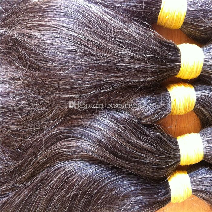 Middle aged and elderly women brazilian virgin gray hair 100 middle aged and elderly women brazilian virgin gray hair 100 unprocessed bundles salt and pepper color free shipping pmusecretfo Images