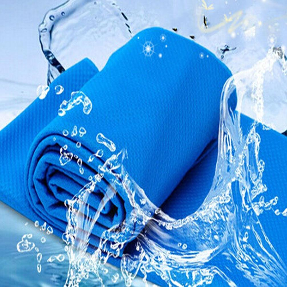 Спорт Бег Туризм Плавание Лето Прохладное полотенце Холодное полотенце Полотенце охлаждающее ПВА Гипотермия Enduracool Snap Snap Towel Многоразовые 90 х 35см