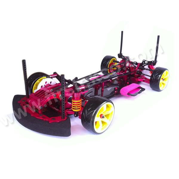 New Alum Alloy Carbon Rc Drift Car Kit Sakura Cs