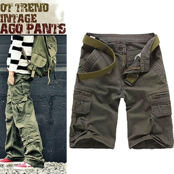 2017 Latest Mens Big Size Fashion Shorts For Juniors Military/Army ...