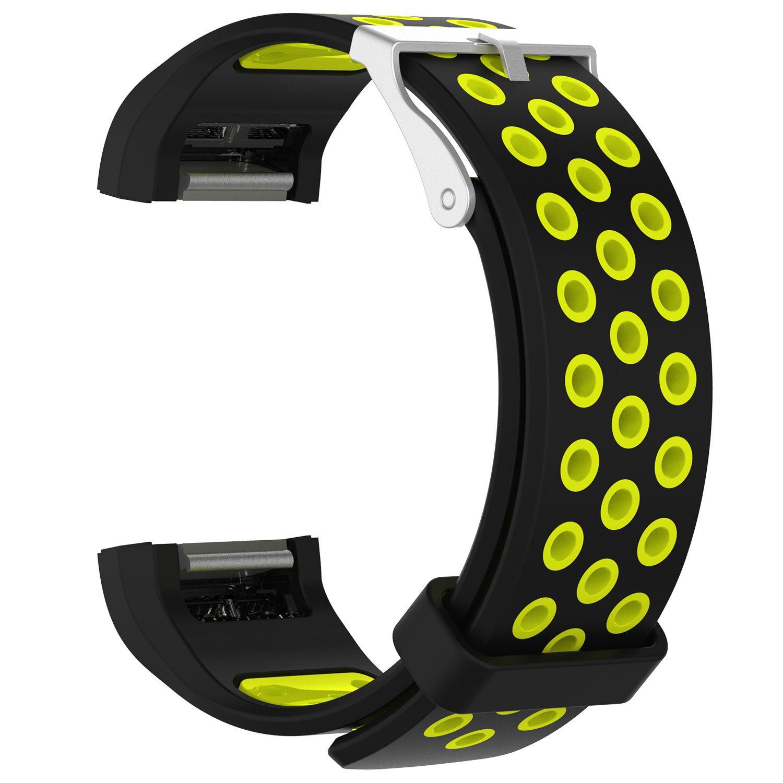 Für fitbit charge 2 herzfrequenz smart armband armband uhr neue stil weichen silikon tpu ersatz strap