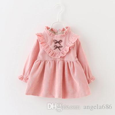2017 autumn winter newborn Dress infant baby clothes dress for girl clothing princess party Christmas dresses bebe spring dress