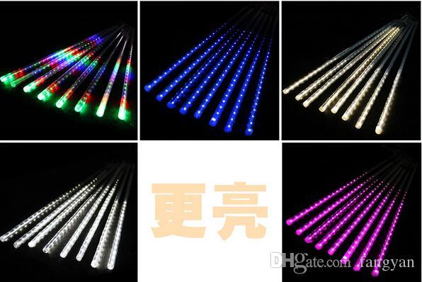 IP65 waterproof 50CM Meteor Shower Rain Tubes LED Light For Halloween Chrismas Party Wedding Tree Lighting Decoration