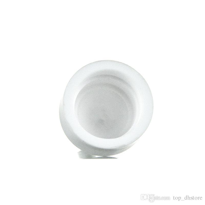 Diferentes tipos de cerámica Carb Cap para Domeless Nail Top calidad White Vapor Dome 14 mm 18 mm Mejor vidrio Bong Fittings ST04 ST03