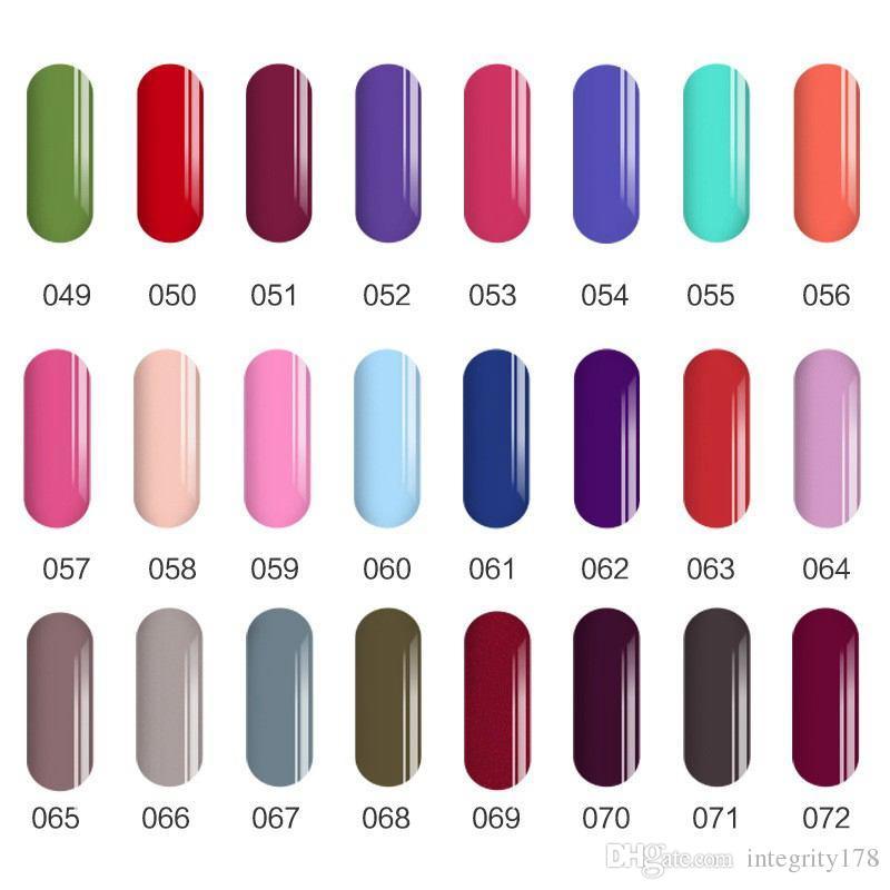 / SIOUX UV Gel pour Ongles UVLED Brillant Coloré 108 Couleurs 6ml Longue tremper Varnish Manucure bon marché DHL gratuit