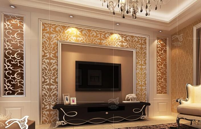 2019 Home Decoration Wall Glass Mosaic Tiles Fashion