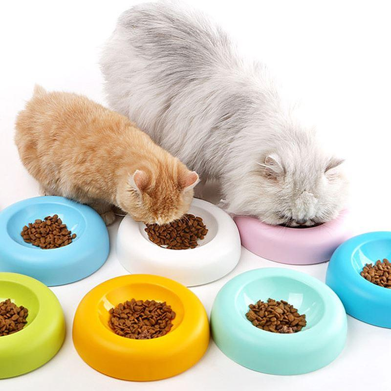 national free shipping us card pancakes super cute cat special cat food bowl cat food bowl skid pet bowls cutlery - Cat Bowls