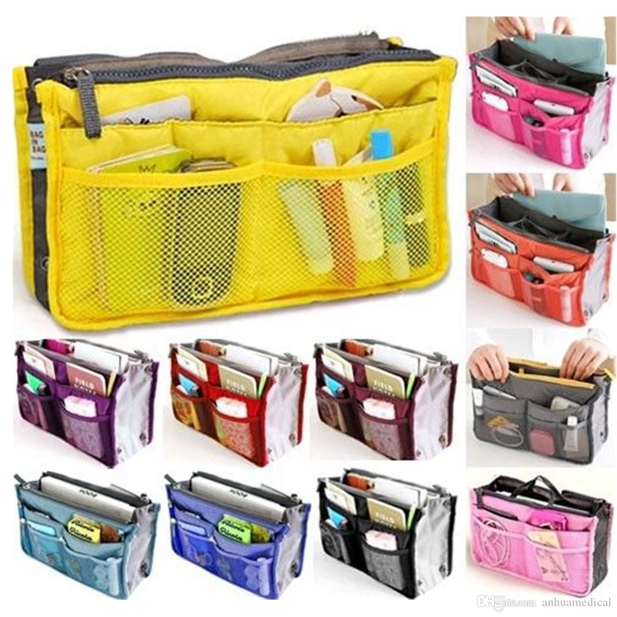 Purse Organizer Insert Multi Function Cosmetic Storage Bag In Bag New Purse  Organizer Insert Multi Function Cosmetic Storage Bag In Bag Fiorelli  Handbags ...