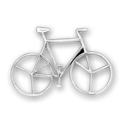 Hand-made Zinc Alloy Sports Bicycle Charm Jewelry
