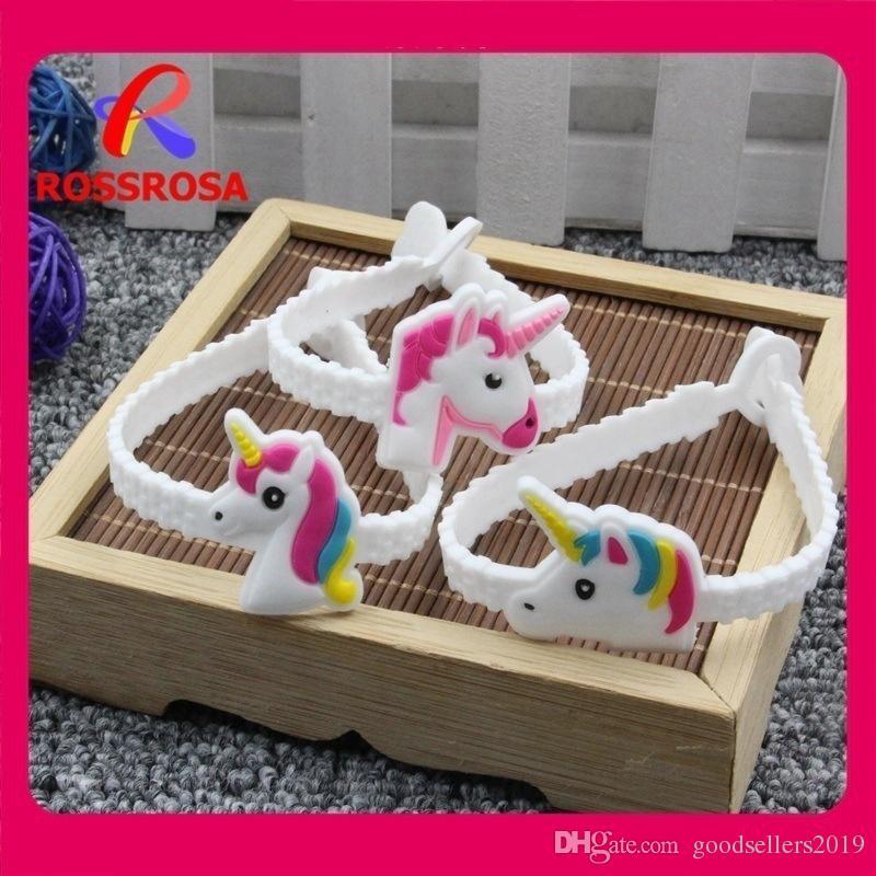 Pawliss Emoji Bilezikler Bileklik Unicorn Doğum Günü Partisi Çocuklar Kızlar için Malzemeleri Şekerleri İfade Oyuncaklar Ödüller Hediyeler Lastik Bant