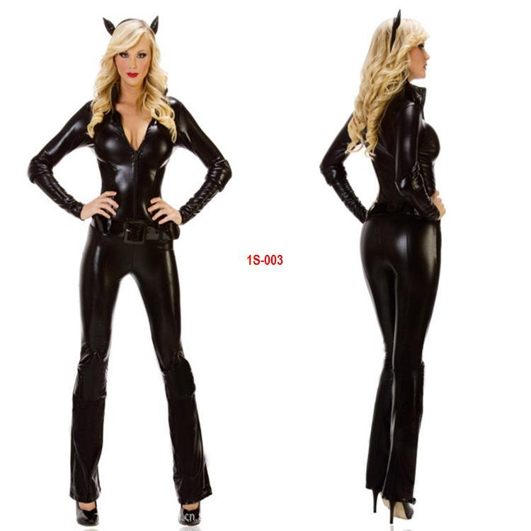 Cat Costumes Black Cat Suits Hold Small Devil Cosplay Halloween Costume Leather Uniforms Sexy Pj Set Sexy Suspender Set From Kepiwell $37.22| Dhgate.Com  sc 1 st  DHgate.com & Cat Costumes Black Cat Suits Hold Small Devil Cosplay Halloween ...