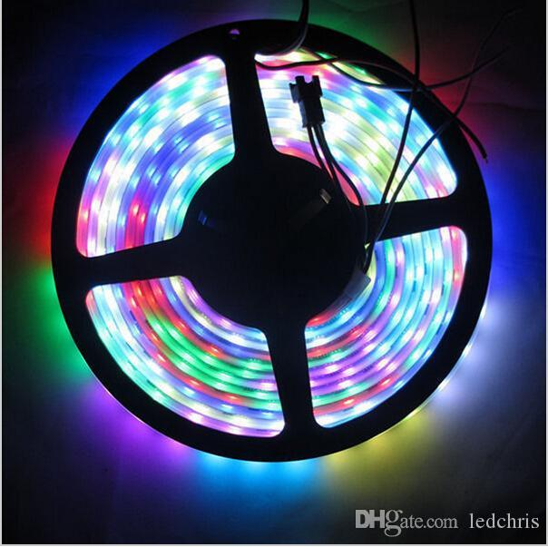 5m digital rgb ws2811 led strip light 5050 smd waterproof ip67 ip68 5m digital rgb ws2811 led strip light 5050 smd waterproof ip67 ip68 addressable ws2811ic dc12v 304860 pixels dream color rgb led strip lights strip light aloadofball Gallery